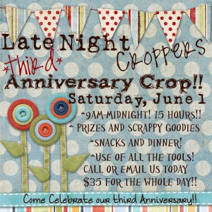 LNC, Late Night Croppers, Third Anniversary