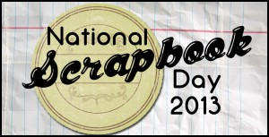 national scrapbook day, late night croppers